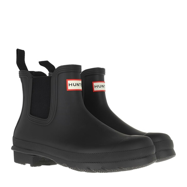 shoes, Hunter, womens original chelsea black