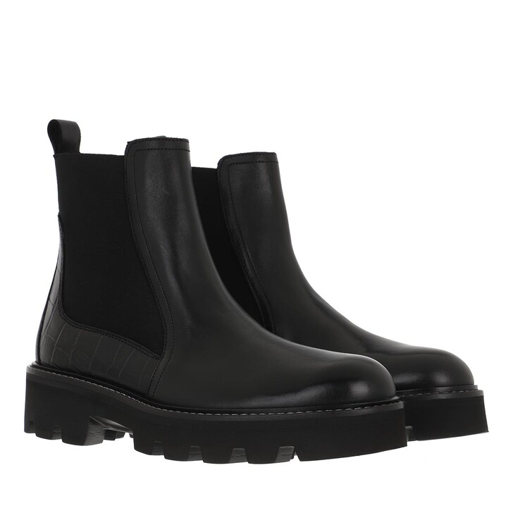 Schuh, Ted Baker, Stompi Cleated Chelsea Boot Black