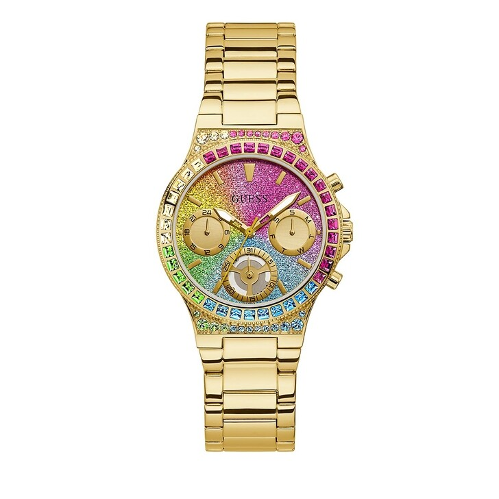 Uhr, Guess, LADIES SPORT WATCH Gold Tone