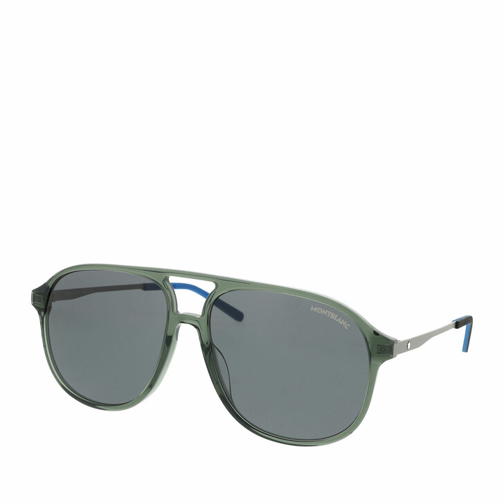 Sonnenbrille, Montblanc, MB0118S-003 59 Sunglass MAN ACETATE Grey