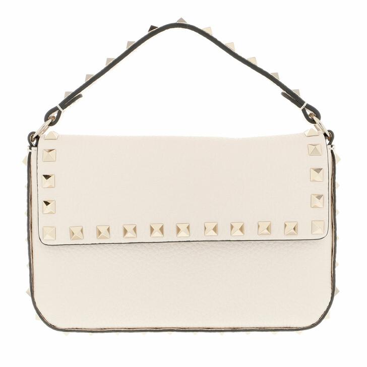 bags, Valentino Garavani, Mini Rockstud Crossbody Bag Light Ivory