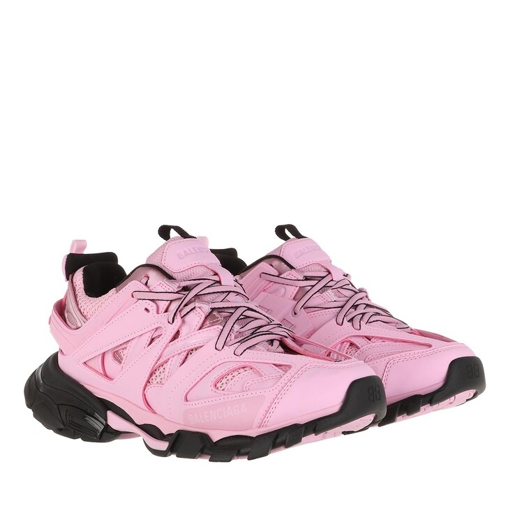 Schuh, Balenciaga, Track Branded Sneakers Pink