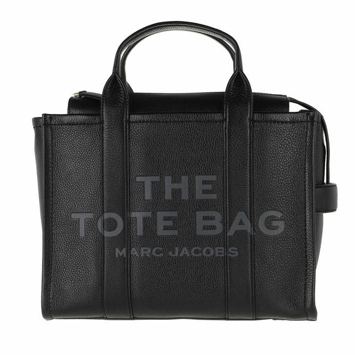 bags, Marc Jacobs, The Leather Small Tote Bag Leather Black