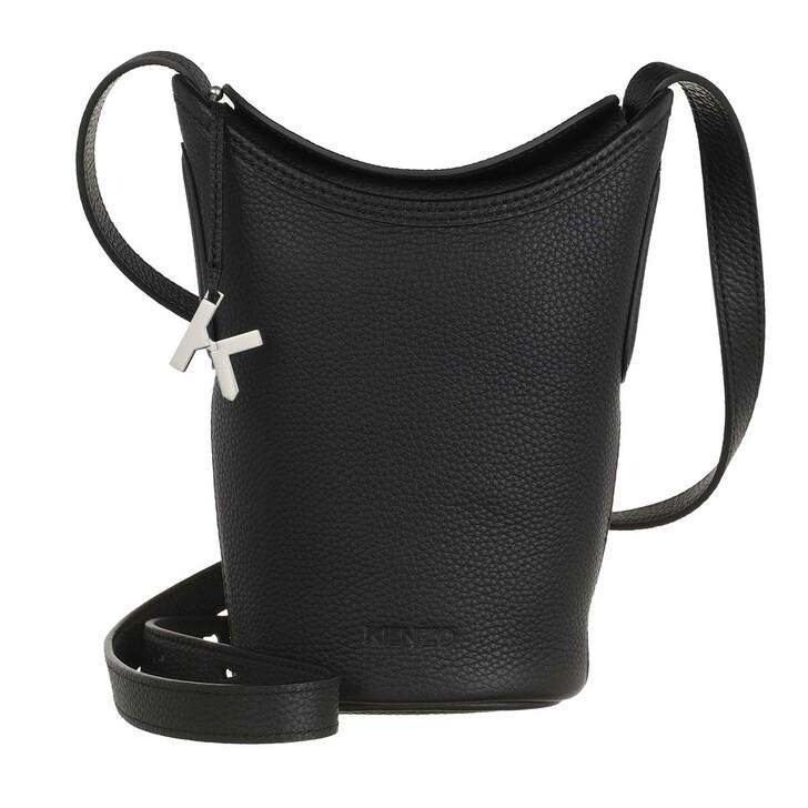 Handtasche, Kenzo, Small Bucket Bag Black
