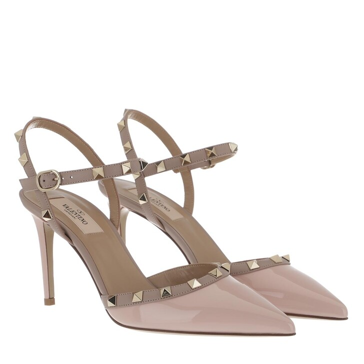Schuh, Valentino, Sling Back Pumps Rose Quartz Powder