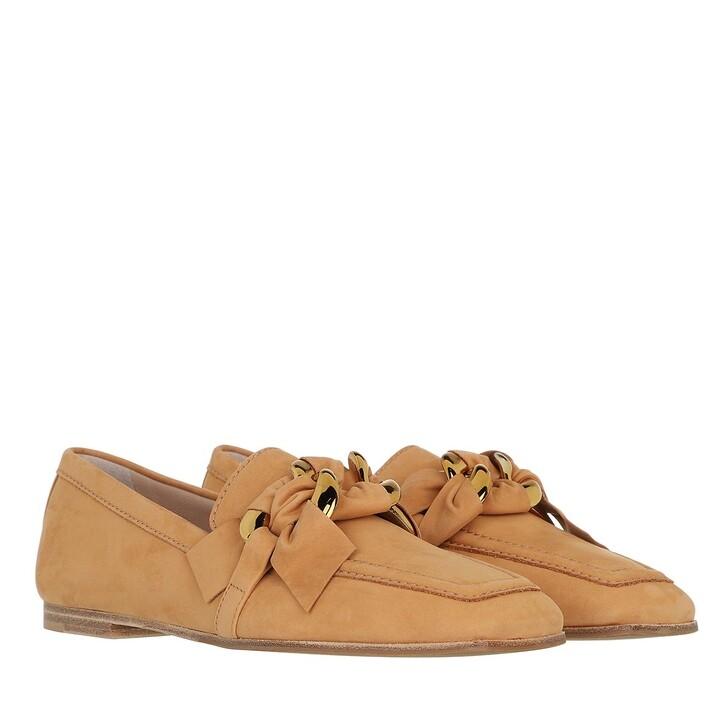 shoes, Kennel & Schmenger, Caro Loafer Leather     caramel/gold