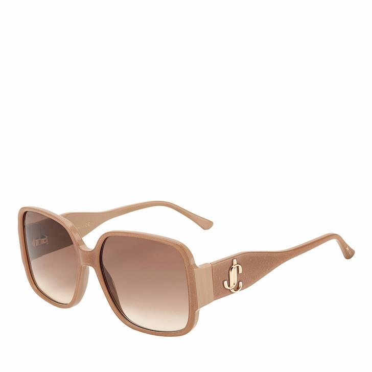sunglasses, Jimmy Choo, TARA/S Nude Glitter