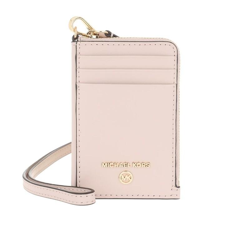 Geldbörse, MICHAEL Michael Kors, Small Id Lanyard Soft Pink