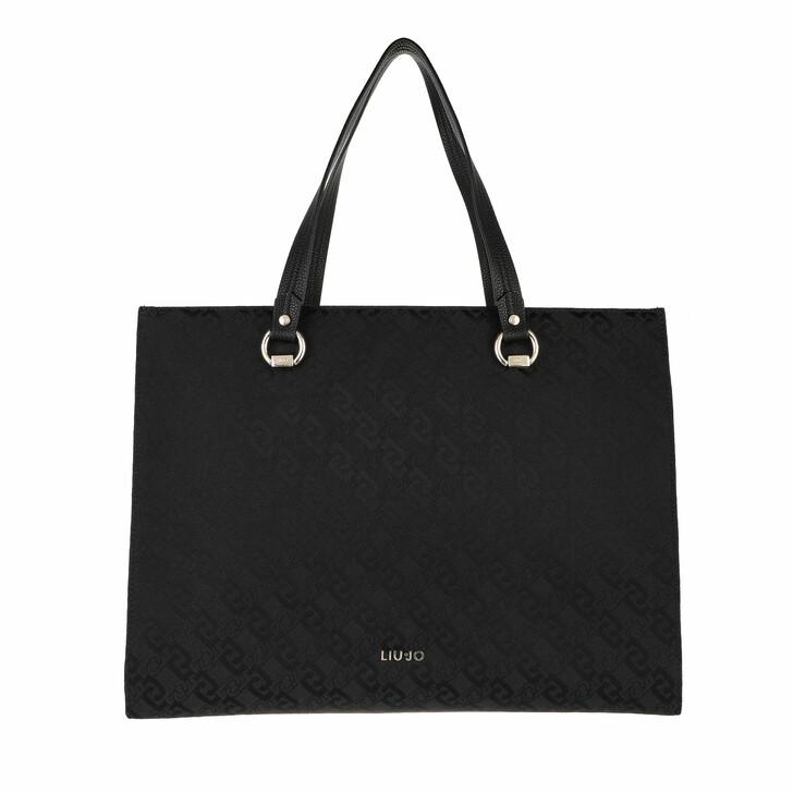bags, LIU JO, Xl Tote Black