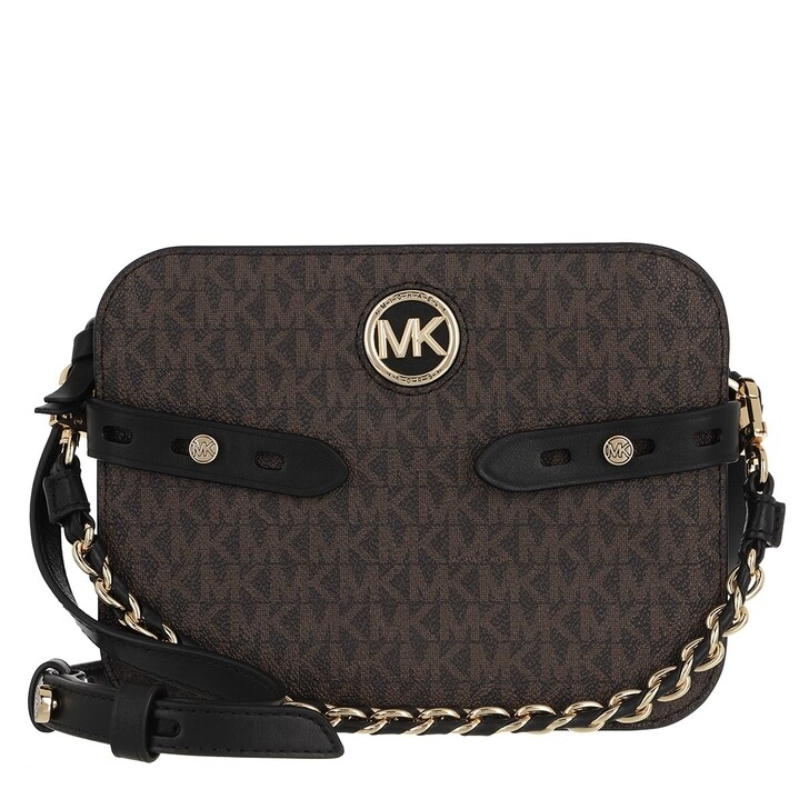 Handtasche, MICHAEL Michael Kors, Large Camera Xbody Brown/Black