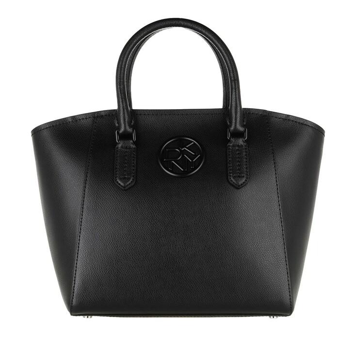 Handtasche, DKNY, Leina Satchel Black Black