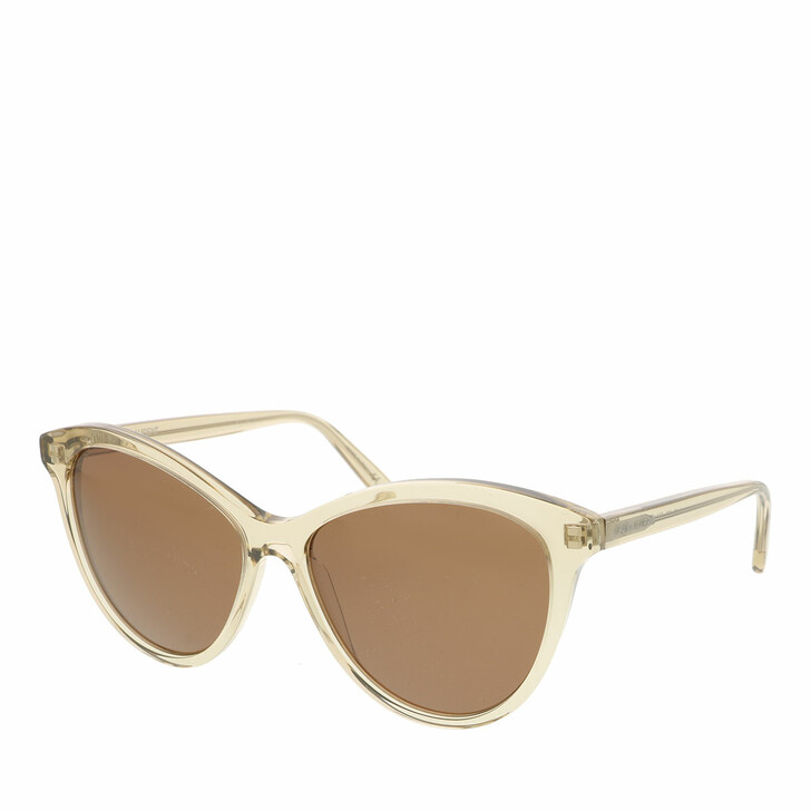 Sonnenbrille, Saint Laurent, SL 456-004 57 Sunglass WOMAN ACETATE YELLOW