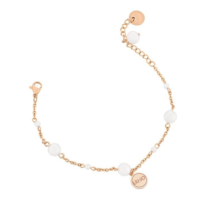 Armreif, LIU JO, LJ1507 Stainless steel Bracelet Rose Gold