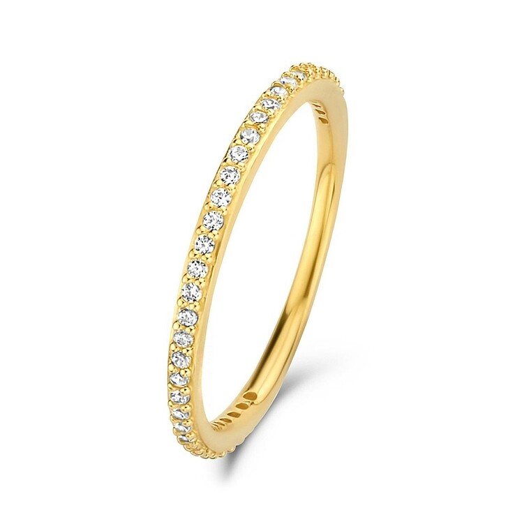 rings, Isabel Bernard, Asterope Stones 14 Karat Stacking Ring