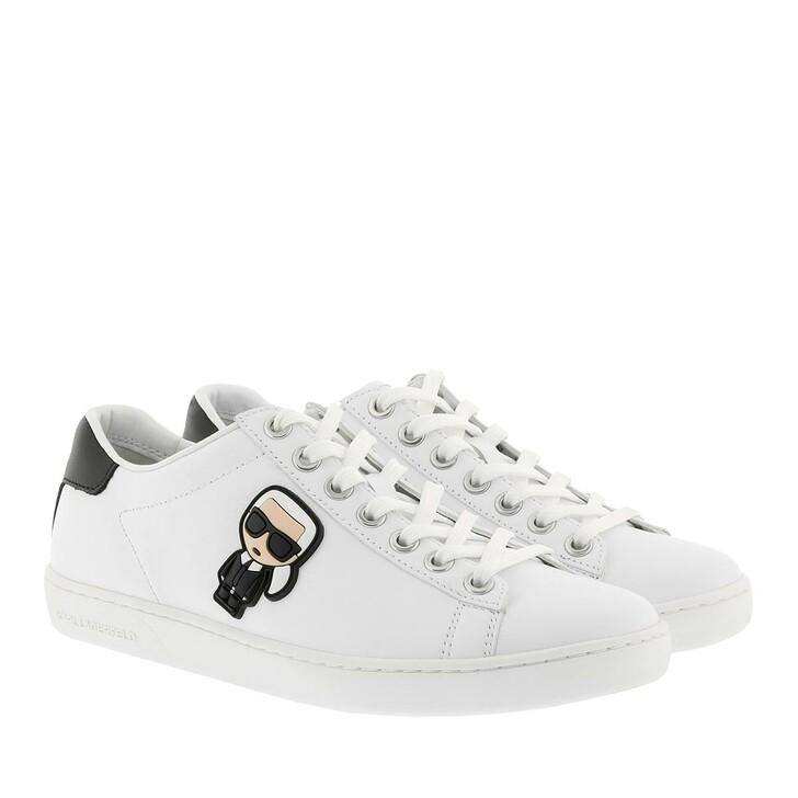 Schuh, Karl Lagerfeld, Kupsole Ikonic Lace White