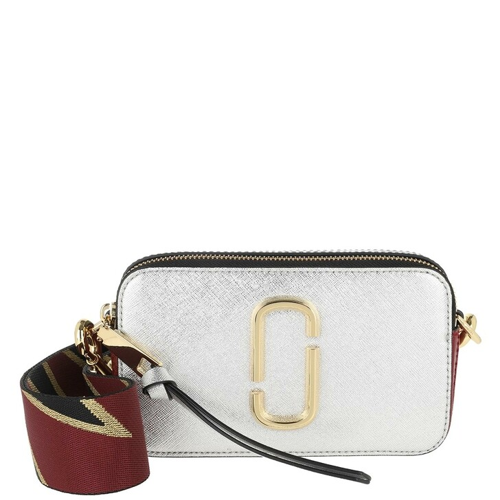 Handtasche, Marc Jacobs, Snapshot Small Camera Bag Silver/Multi