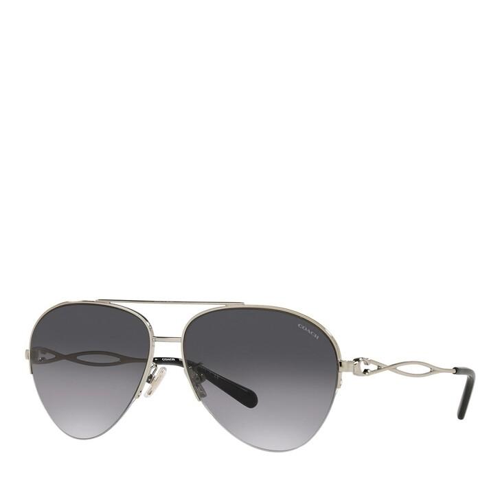 Sonnenbrille, Coach, 0HC7124 Shiny Light Gold
