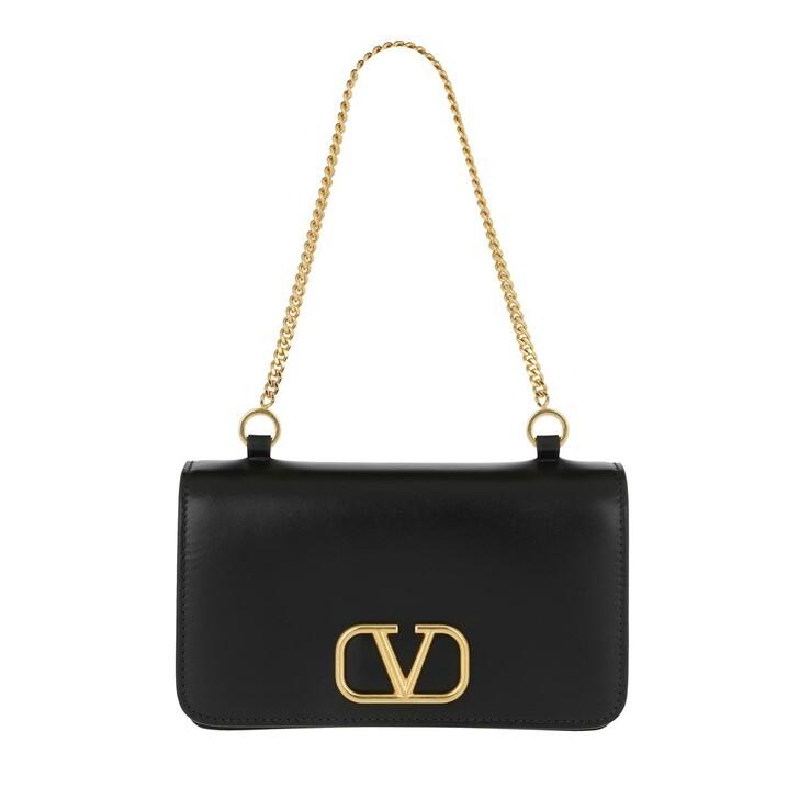 Handtasche, Valentino Garavani, Utility Bag Black