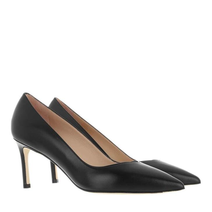 shoes, Stuart Weitzman, Anny 70 Black