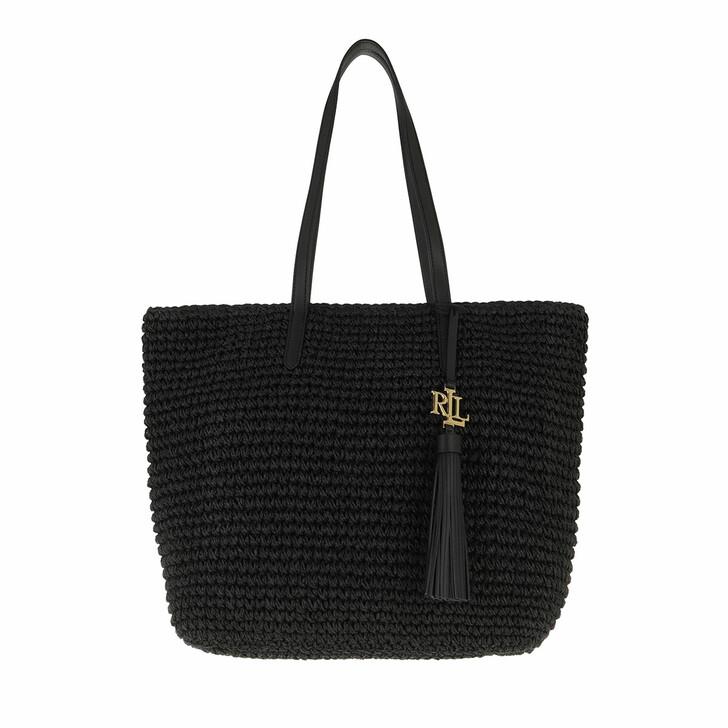 Handtasche, Lauren Ralph Lauren, Whitney 29 Tote Medium Black/Black