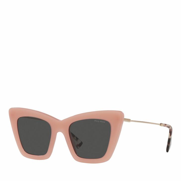 sunglasses, Miu Miu, Woman Sunglasses 0MU 01WS Opal Pink