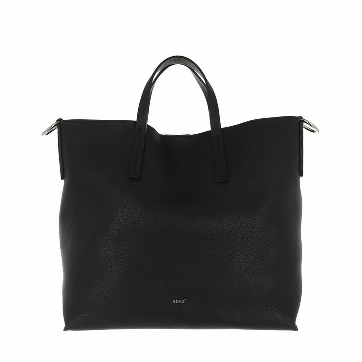 Handtasche, Abro, Shopper Julie Black/Nickel
