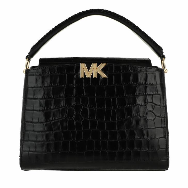 bags, MICHAEL Michael Kors, Medium Th Satchel Black