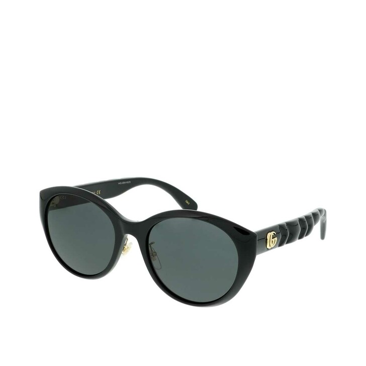 Sonnenbrille, Gucci, GG0814SK-001 56 Sunglass WOMAN INJECTION Black