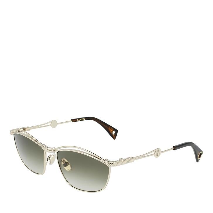 sunglasses, Lanvin, LNV111S GOLD/GRADIENT KHAKI