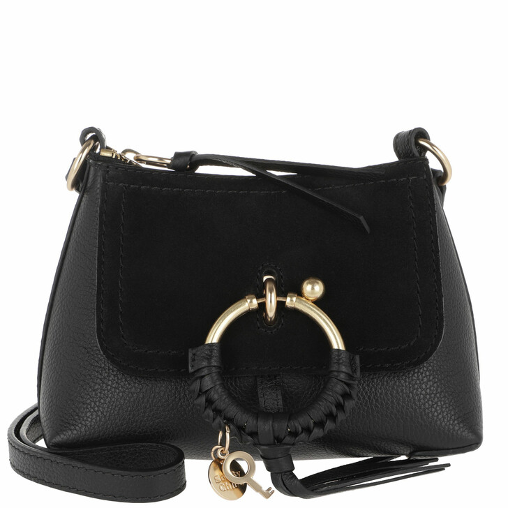 Handtasche, See By Chloé, Joan Mini Crossbody Bag Black