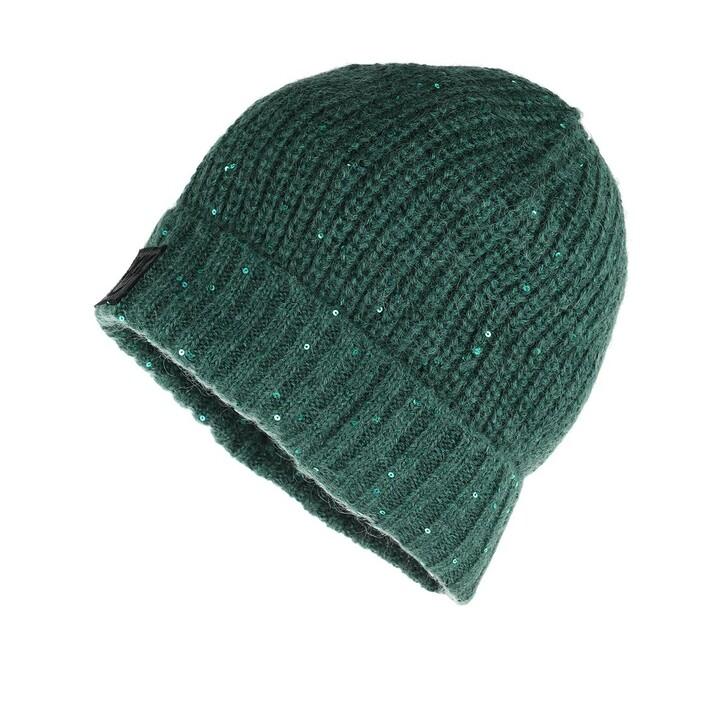 Mütze, Pinko, Terra Cuffia Costa Inglese Beanie Green