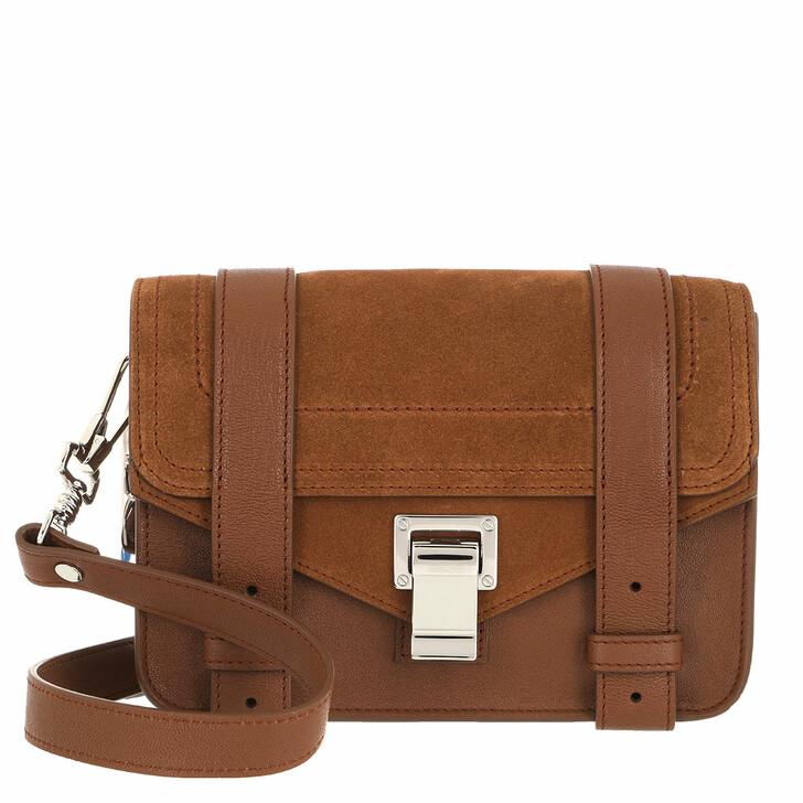 Handtasche, Proenza Schouler, PS1 Mini Crossbody Bag Chocolate