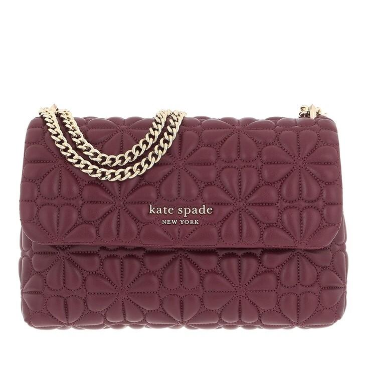bags, Kate Spade New York, Bloom Small Shoulder Bag Grenache