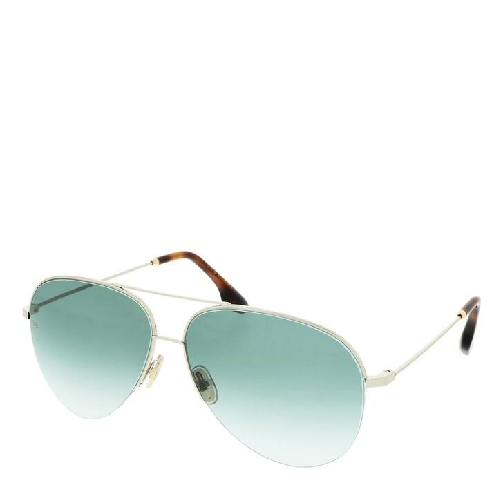 Sonnenbrille, Victoria Beckham, VB90S Silver/Teal