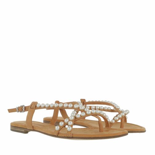 kennel & schmenger -  Sandalen & Sandaletten - Elle Sandals Soft Nubuk - in braun - für Damen
