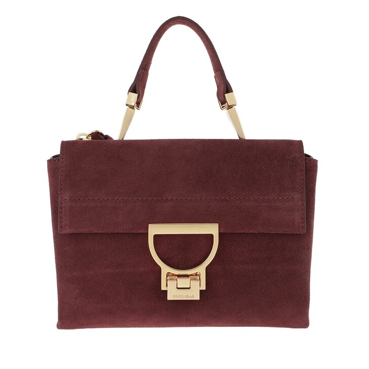 bags, Coccinelle, Arlettis Suede Marsala