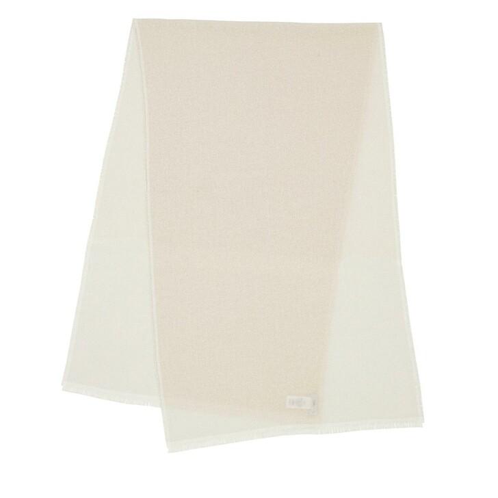 Schal, Closed, Scarf Linen White