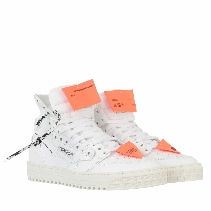 shoes, Off-White, 3.0 Off Court Leather White