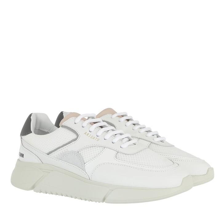 Schuh, Axel Arigato, Genesis Triple Sneakers Grey Pink Red