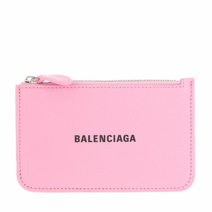 wallets, Balenciaga, Neo Classic Card Holder Pink