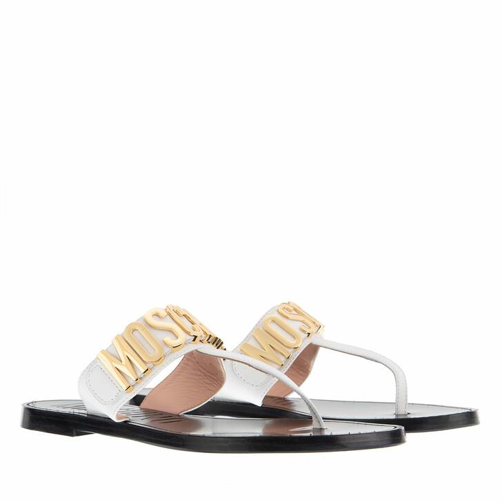 Schuh, Moschino, Shoe Cuoio15  Bianco