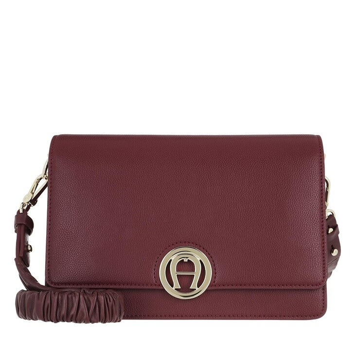 Handtasche, AIGNER, Handle Bag Burgundy