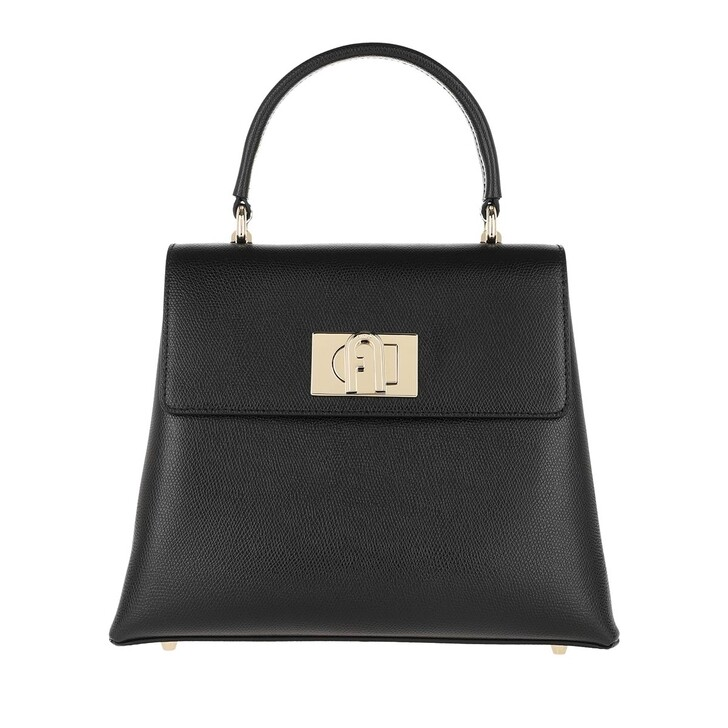 Handtasche, Furla, 1927 Small Top Handle Bag Nero