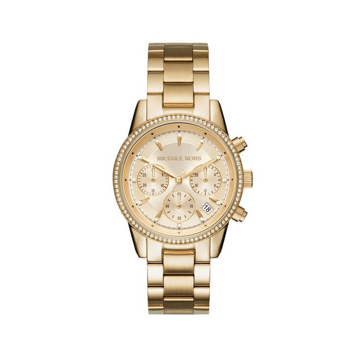 watches, Michael Kors, MK6356 Ladies Ritz Watch Gold-Tone