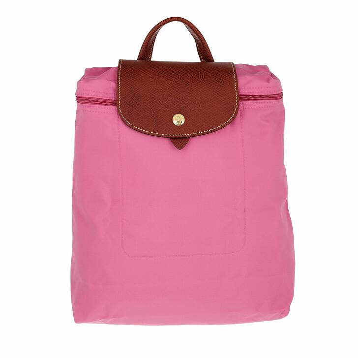 bags, Longchamp, Le Pliage Original Backpack  Peony