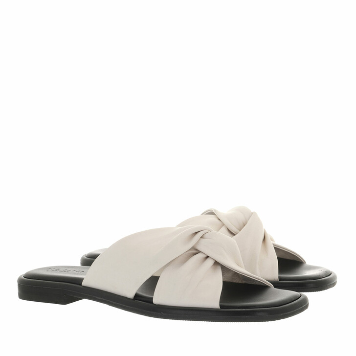 shoes, Ted Baker, Pebba Soft Leather Flat Sandal White