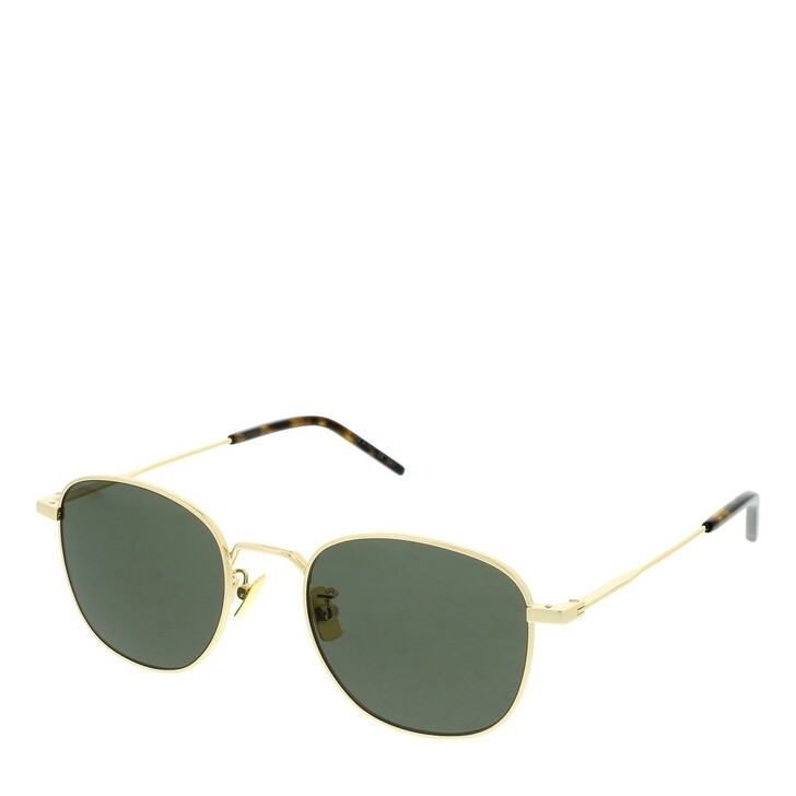 Sonnenbrille, Saint Laurent, SL 299-004 50 Sunglass UNISEX METAL Gold