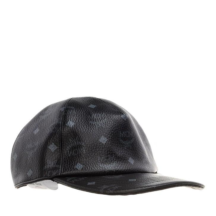 Mütze, MCM, Full Visetos Cap Black