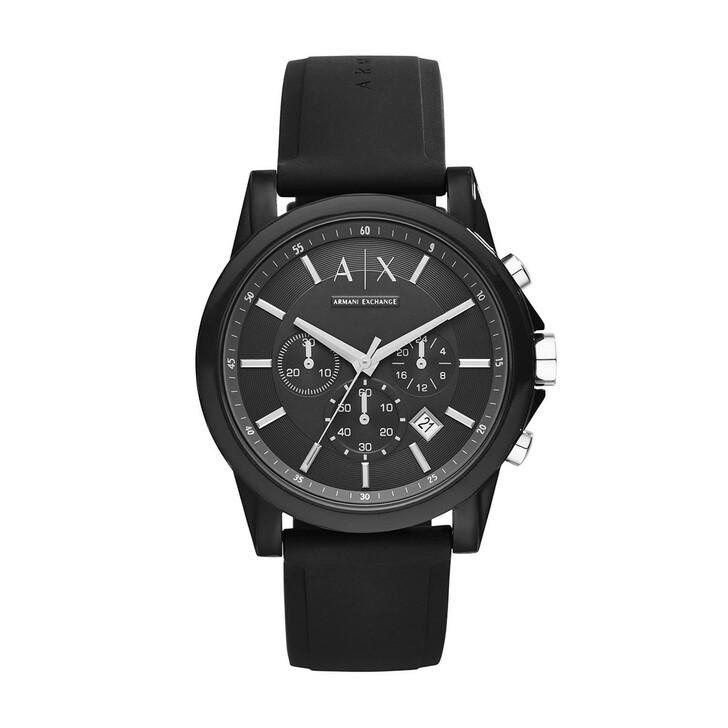 Uhr, Armani Exchange, Outerbanks Active Watch Black