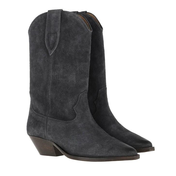Schuh, Isabel Marant, Cowboy Boots Black